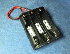 "Battery Case Box Holder w/ 6"" Wire for 3XAA 1.5V 2A 14500 in Parallel"