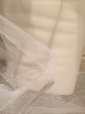 1M NET TUTU FABRIC NYLON (100%) IVORY 58 WIDE