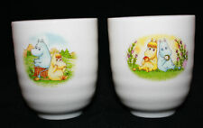 The Story of Moomin Valley Set of 2 Yunomi Coffee Tea Cups Not for Sale Japan