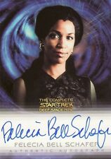 Complete Star Trek Deep Space Nine DS9 Felecia Schafer / Jennifer Sisko A22 Auto