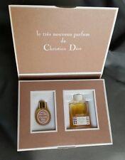 Vintage  Christian Dior DIOR-DIOR Perfume Mini Set Not For Sale  Presentation