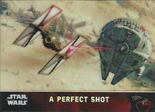 A Perfect Shot 2015 Topps Chrome Star Wars Force Awakens refractor card