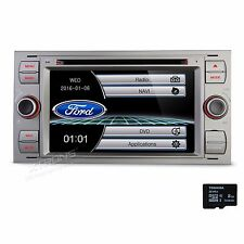 for Ford Focus Mondeo S-Max C-Max Car DVD Player Stereo Radio Bluetooth GPS Navi