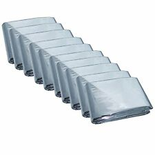 Emergency Mylar Thermal Blankets Pack of 10 MP