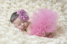 New! Hot! Newborn Baby Girls Crochet Knit Costume Photo Photography Prop Outfits