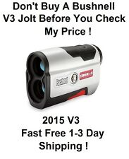 NEW 2015 BUSHNELL TOUR V3 WITH JOLT GOLF LASER RANGEFINDER 201360