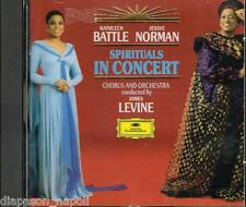 Spirituals In Concert / Kathleen Battle, Jessye Norman, James Levine - CD