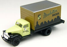 MINI METALS * 41/46 UTILITY TRUCK MANHATTAN BEER BREWING BREWERY * HO Scale, NEW