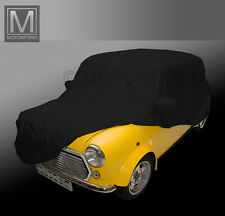 Austin MINI COOPER indoor tutta Garage Car Cover Auto Garage nero morbido elegante
