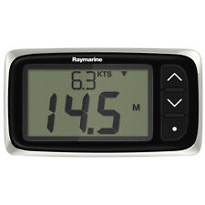 Raymarine i40 Bidata Depth Speed Display System & Thru Hull Transducers E70145