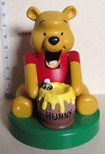 "Disney Kurt Adler - Winnie The Pooh Nutcracker 8.5"" Christmas Figure"