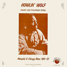 HOWLIN' WOLF Heart Like Railroad Steel BLUES BALL RECORDS Sealed Vinyl Record LP