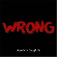 "ANYONE`S DAUGHTER ""WRONG"" LIMI.SLIPCASE CD+2TRACK NEU!"