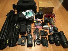 Nikon D800 36.3 MP Digital SLR Camera,Exec w/3 Lens/Flash,WiFi,BattGrp,Mic,STDIO