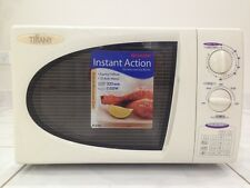 Tiffany 1100W white midsize microwave oven. Hardly ever used.