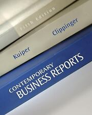 Contemporary Business Reports, Clippinger, Dorinda, Kuiper, Shirley, Good Book