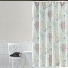 HOME CLASSICS Emiliana Floral Fabric Shower Curtain Floral & Butterflies