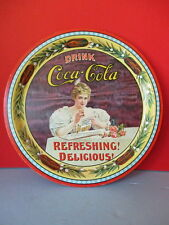 1977 COCA COLA VICTORIAN REPRODUCTION TRAY, 75TH YEAR CELEBRATION, LIMITED EDIT.