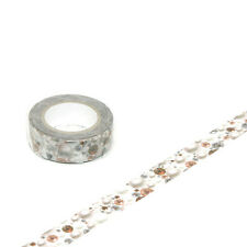 MT washi paper masking tape MT X Wrapple Pearl and Crystal (White) Scrapbook DIY
