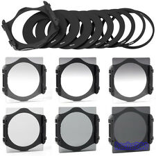 6pcs Graduated Neutral Density ND 2 4 8 Lens Filter Kit Set for Cokin P Series