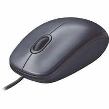 Logitech M100 Corded USB Optical Mouse (910-001601-UG)