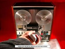 Teac A-4300 Auto Reverse Reel To Reel Tape Deck Recorder Serviced & Guaranteed!