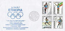 Etiopia: 2000: Haile gebreselassie, World's Athletics SUPER STAR, FDC