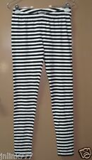 456:New Kids Lindex Girls Stripey Leggings for 9 to 10 y/o