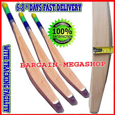 Custom Made ENGLISH WILLOW CRICKET BAT BIG THICK MASSIVE 45 MM EDGES +FREE EXTRA