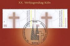 BRD 2005: Weltjugendtag Paar der Nr. 2469 mit Bonner Ersttags-Sonderstempel! 1A!