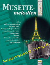 Musette - melodien, Noten für Akkordeon,Sheet Music Book  for accordion,VHR 1778