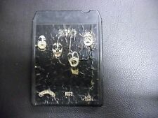 KISS Self Titled S/T 8-Track tape 1974 Casablanca Records Kissin' Time Strutter