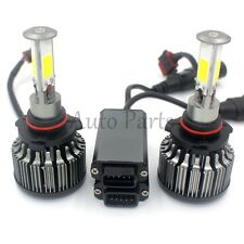 120W 12000LM 4-Sided LED Headlight Kit 9006 HB4 6000K Low Beam Bulbs High Power