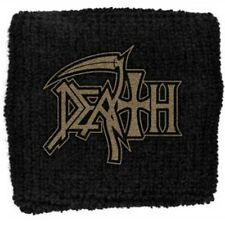 Death Logo Sweatband Wristband Official Death Metal Wrist Band New