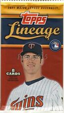 2011 Topps Lineage Jersey/Patch/Relic/Auto/Autograph Hot Pack