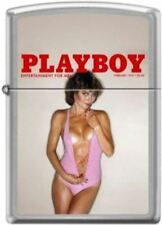 Zippo Playboy February 1979 Cover Street Chrome Windproof Lighter NEW RARE