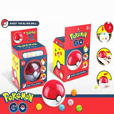Fun Pokemon Go Pocket Monster Figures Pokeball Shoot Ball Kids Children Baby Toy
