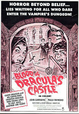 BLOOD OF DRACULA'S CASTLE.