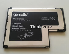 Lenovo Gemalto 54mm ExpressCard 54 Smart Card Writer Reader FRU 41N3045 41N3043