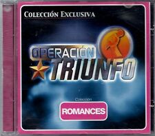 OPERACION TRIUNFO - Romances - SPAIN CD Vale Music 2002 - David Bisbal, Chenoa