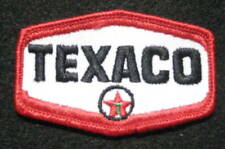 "TEXACO EMBROIDERED SEW ON PATCH GAS OIL PETROLEUM ADVERTISING 3 1/4"" x 2"""