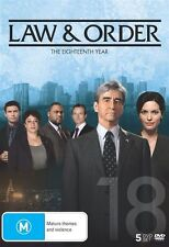 Law and Order: Season 18 NEW R4 DVD