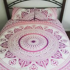 Indian Ombre Mandala Throw Tapestry Boho Hippie Tapestry Beach Rug QUEEN SIZE