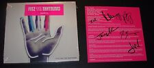 FITZ AND THE TANTRUMS hand signed autographed CD booklet SELF-TITLED HandClap
