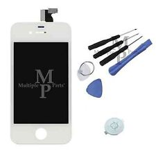 iphone 4S White Replacement LCD Touch Screen Digitizer Assembly + Home Button