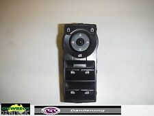 HOLDEN GENUINE POWER WINDOWS MASTER SWITCH 4 BUTTONS BLACK SUIT VE
