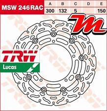 Disque de frein Avant TRW Lucas MSW 246 RAC pour Yamaha XJ6 600 N RJ19 2009-2012