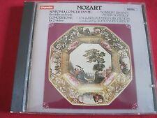 RARE CD - MOZART-SINFONIA CONCERTANTE - BRAININ/SCHIDLOF CHANDOS (1984) GERMANY