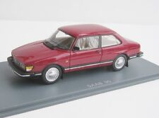 Saab 90 2-door CHERRY RED 1985 1/43 NEOSCALEMODELS Neo 43672 Limousine Sedan