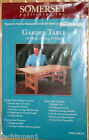 Garden Table Craft Pattern Woodworking Plans